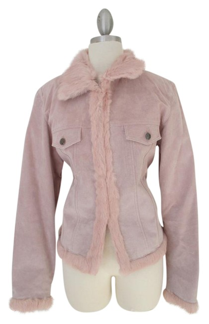 Preload https://item1.tradesy.com/images/wilsons-leather-pink-suede-with-fur-vintage-leather-jacket-size-8-m-13262920-0-5.jpg?width=400&height=650