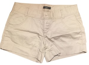 Express Cuffed Shorts Khaki