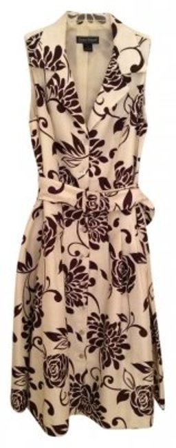 Preload https://item4.tradesy.com/images/jessica-howard-beigebrown-polyester-swing-knee-length-cocktail-dress-size-12-l-132643-0-0.jpg?width=400&height=650