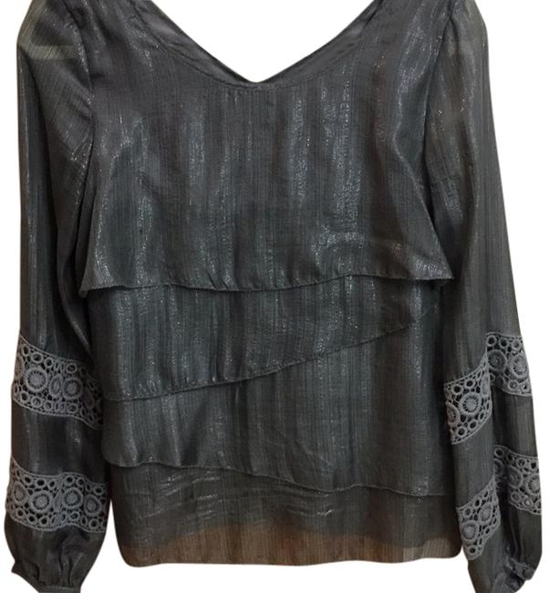 Preload https://item3.tradesy.com/images/addison-dark-gray-blouse-size-2-xs-13264777-0-1.jpg?width=400&height=650