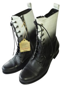 Diesel Combat Inside Zip REDUCED!! Ombre B/W Boots