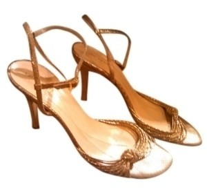 Kate Spade gold Pumps