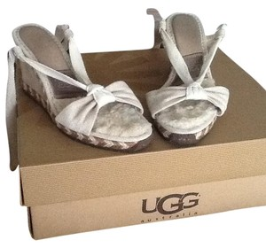 UGG Boots Cream Wedges