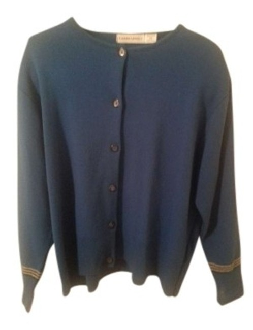 Preload https://item3.tradesy.com/images/blue-cardigan-size-22-plus-2x-132657-0-0.jpg?width=400&height=650