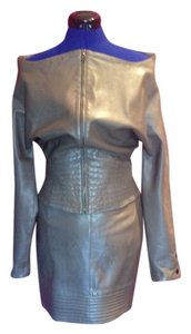Claude Montana Vintage Collectable Top Tan leather