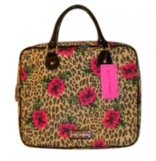 Preload https://item5.tradesy.com/images/betsey-johnson-jungle-rose-cheetah-leopardmulti-polyester-laptop-bag-132674-0-0.jpg?width=440&height=440