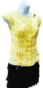 Victoria's Secret Lace Top yellow