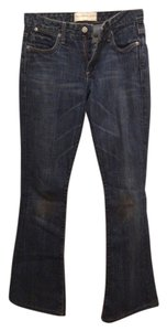 Paper Denim & Cloth Classic Distressed Light Wash Boot Cut Jeans-Medium Wash