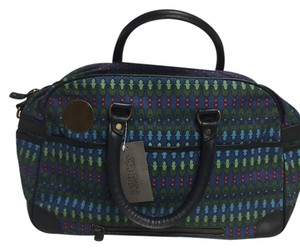 Sannaa Hyder Balcony Blue Beach Bag