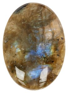 Luxe Group Luxe Group Labradorite Cabachon Ring OS