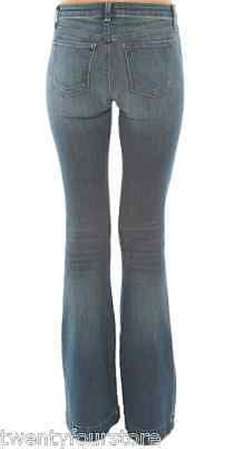 J Brand Another Lovestory Bellbottom In Ingenue Blue 25 Flare Leg Jeans
