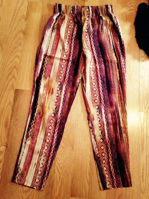 Necessary Clothing High Wasit Print Trouser Pants