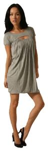 Laila Azhar short dress Heather Grey on Tradesy