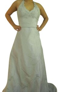David's Bridal Mercury (silver/grey) Silver Cinderella Dress Dress