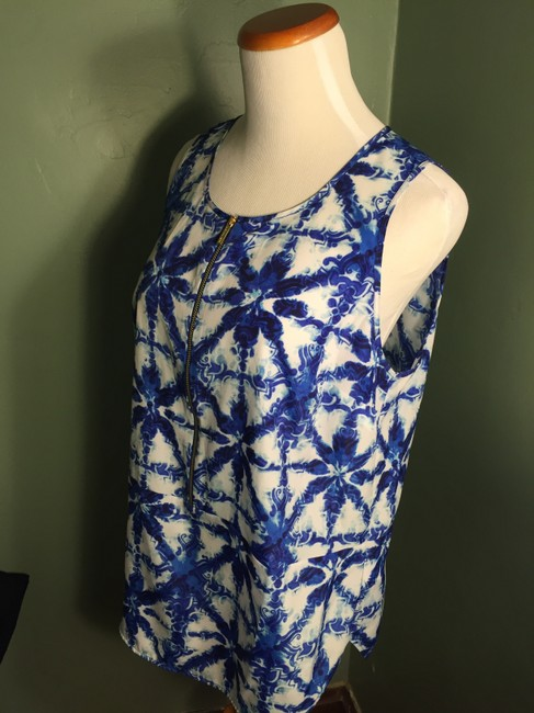 Michael Kors Top Blue/White