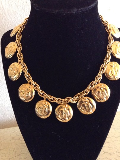 Preload https://item3.tradesy.com/images/chanel-gold-rare-vintage-1980-s-plated-charm-choker-necklace-1327502-0-0.jpg?width=440&height=440