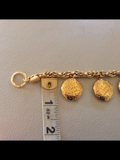 Chanel Authentic CHANEL Rare Vintage 1980's Gold Plated Charm Choker Necklace