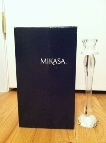Mikasa Jolie Crystal Taper Holders 10 Reception Decoration