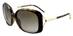 Burberry BURBERRY SUNGLASSES Tortoise with Gold Trim and Gradient Lenses BE 4068 3002/13