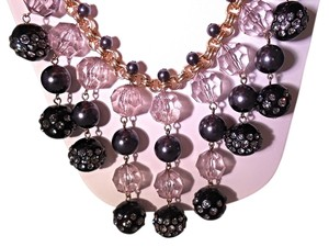 Kate Spade KATE SPADE NEW YORK EUC CHAMPAGNE BUBBLES SPRAY STATEMENT NECKLACE RARE