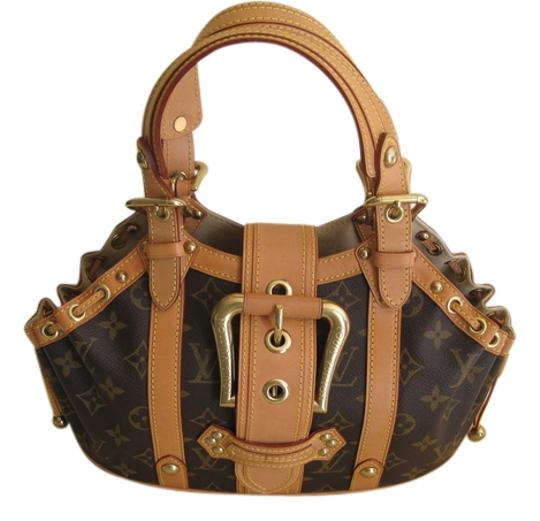 Preload https://item4.tradesy.com/images/louis-vuitton-theda-monogram-gm-limited-edition-brown-canvasleather-satchel-13279408-0-1.jpg?width=440&height=440