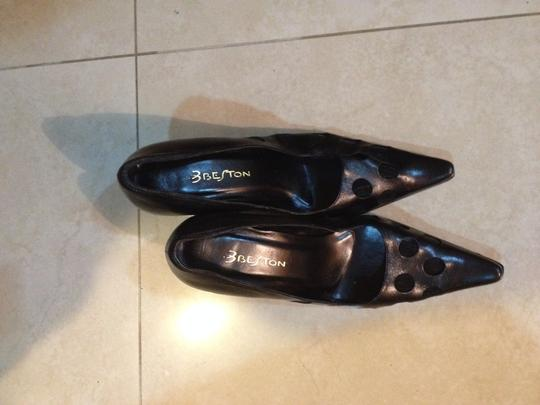 beston Classic Size 7 Leather black Formal