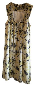 Twenty8Twelve short dress Black Yellow print on Tradesy