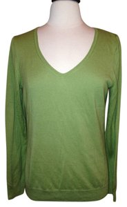 Talbots Pullover Size M Olive Sweater