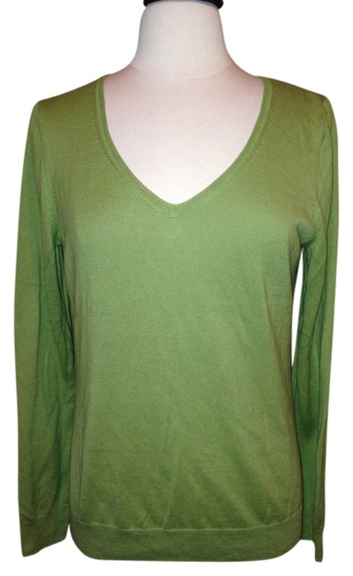 Talbots Size M Olive Sweater