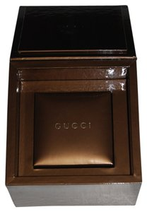 Gucci GUCCI Bronze Watch / Jewelry Presentation Box