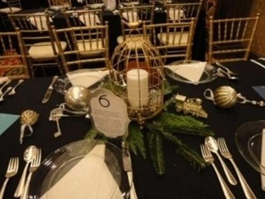 Gold Or Silver Birdcages Ceremony Decoration
