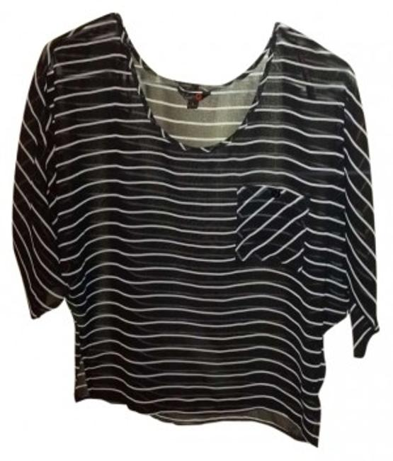 Guess Top Black/White