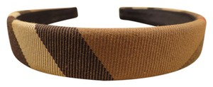 BURBERRY WOMENS AUTHENTIC BURBERRY CLASSIC NOVA CHECK HEADBAND HAIR BAND EXCELLENT CONDITION!!