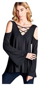Other Cold Lace Up Boho Loose Women Tunic