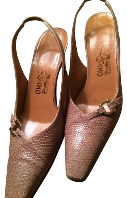 Item - Taupe/Beige Pumps Size US 7 Narrow (Aa, N)