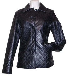 Siena Studio black Leather Jacket