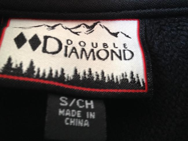 Double Diamond Water-resistant Shell Skiing Layer Jacket