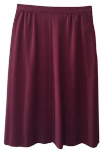 Jaeger Skirt Deep Rose