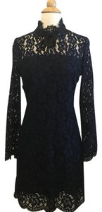 Sandro Lace High Neckline Brand New Dress