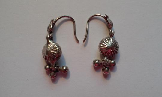 Other ANTIQUE Sterling Silver Pierced Dangle Drop Earrings