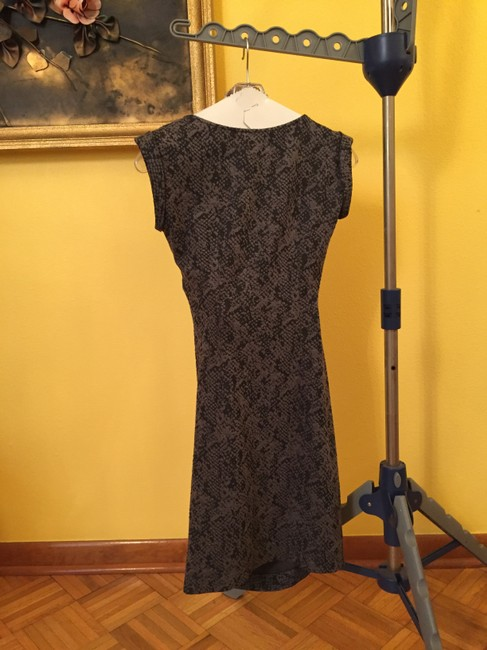 Ann Taylor Black/Gray Dress