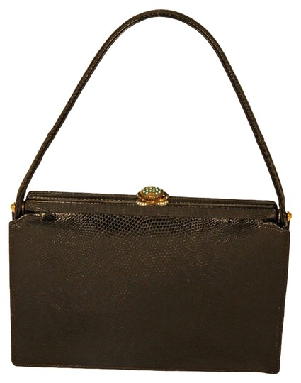 Preload https://item4.tradesy.com/images/koret-evening-purse-by-black-genuine-lizard-with-turquoise-stone-wristlet-1329168-0-0.jpg?width=440&height=440