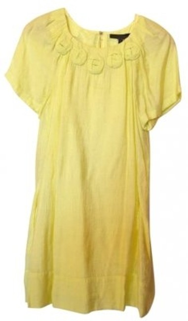 Preload https://img-static.tradesy.com/item/132921/bcbgmaxazria-canary-yellow-above-knee-short-casual-dress-size-8-m-0-0-650-650.jpg