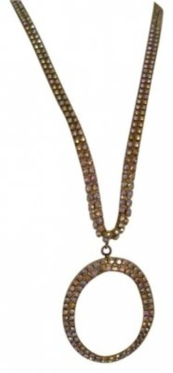 Preload https://item5.tradesy.com/images/gold-and-rhinestones-pendant-necklace-132924-0-0.jpg?width=440&height=440