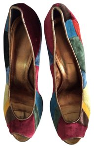 Coach Multicolored Pumps