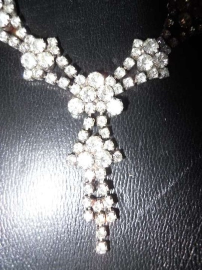 Other vintage rhinestone necklace set