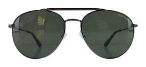 Tom Ford New Tom Ford TF 338 09N Colin Dark Gunmetal Aviator Full-Frame Gray Sunglasses 58mm Italy