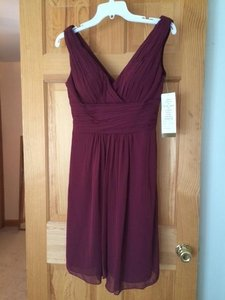 Bill Levkoff Wine 154 Dress