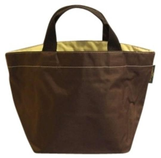 Preload https://item1.tradesy.com/images/herve-chapelier-brownlight-green-nylon-tote-132950-0-0.jpg?width=440&height=440