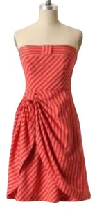 Anthropologie short dress red Summer Spring on Tradesy